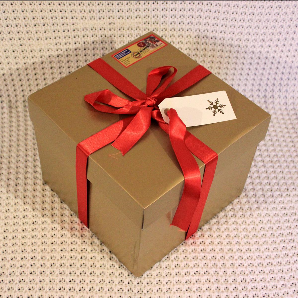 christmas eve box decoration